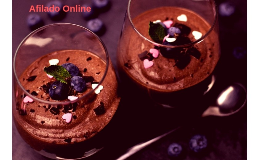 Receta de Mousse de Chocolate al estilo Julia Child